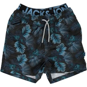 Jack & Jones! Jongens Zwemshort - Maat 176 - All Over Print - Polyester
